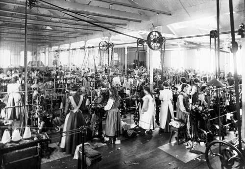 Factories During Industrial Revolution